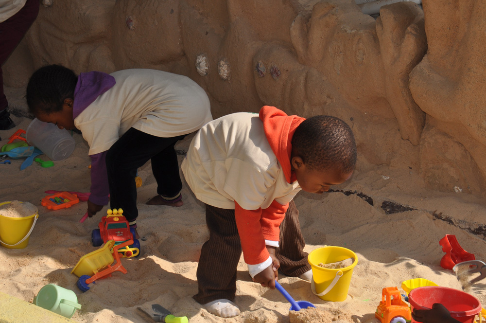 A moment of play, fun and sensory learning
