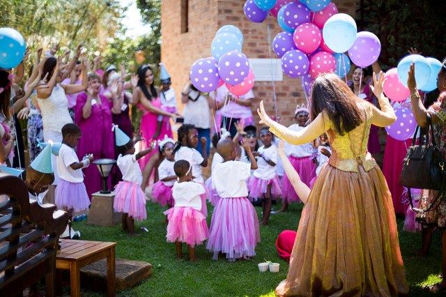 One of our many Magical Moments - a birthday party offering an Extraordinary experience for the children